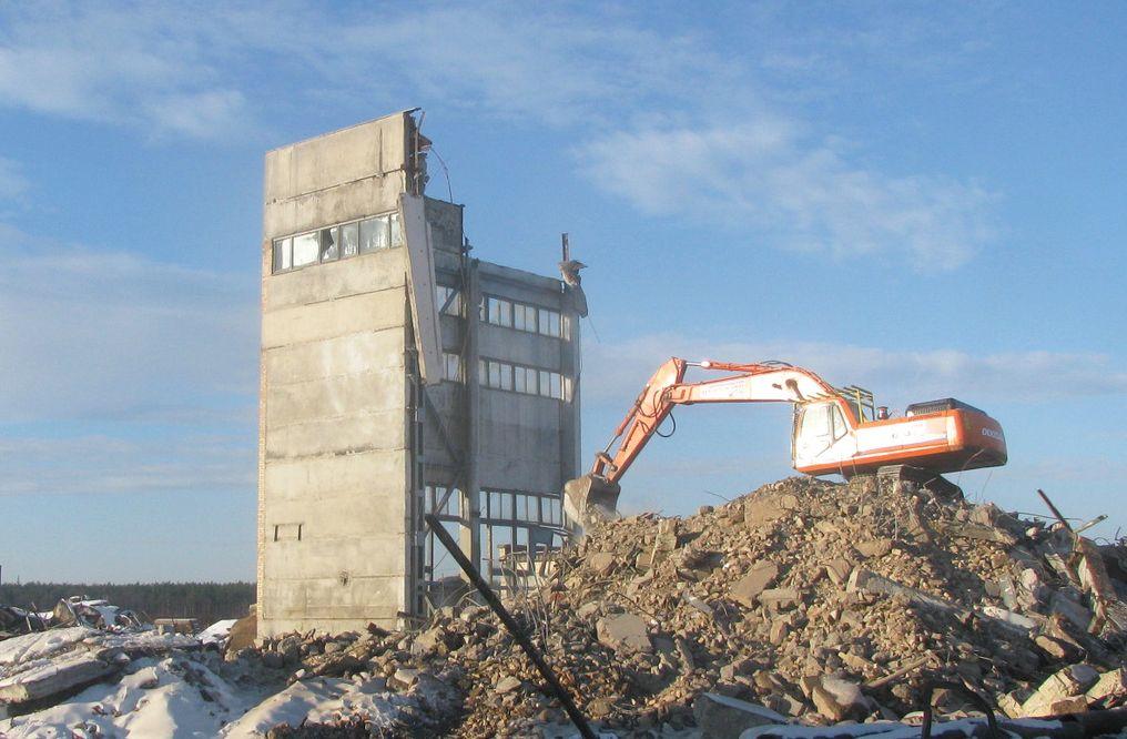 Демонтаж промислових споруд