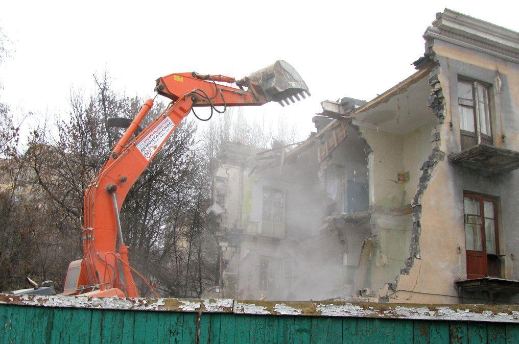 Демонтаж будівель